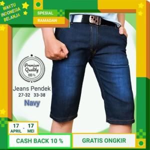 Harga celana jeans levis jins pria pendek pria cowok laki dewasa original   biru 27   | HARGALOKA.COM