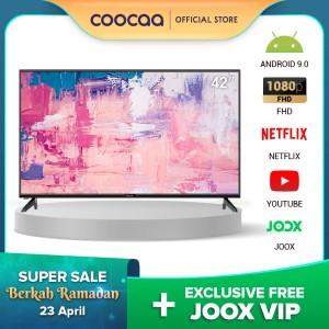 Harga hot product coocaa 42 inch full hd   smart tv   tv android 9     HARGALOKA.COM