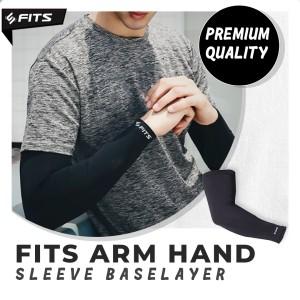 Harga sfidn fits arm hand sleeve baselayer manset tangan lengan olahraga   satuan | HARGALOKA.COM