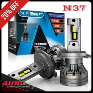 Harga lampu led mobil novsight a500 n37 h4 h1 h3 h7 h8 h11 h16 hb3 hb4 hir2   putih 6500k hb3 | HARGALOKA.COM