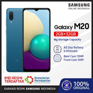 Harga samsung m02 2 32 gb mediatek galaxy android 10 ram 2 rom 32 resmi sein   | HARGALOKA.COM