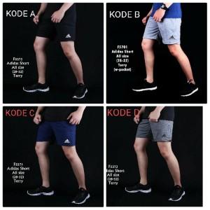 Harga celana pendek pria gym fitnes olahraga jogging | HARGALOKA.COM
