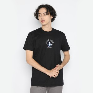 Harga kaos pria erigo t shirt surfer vibes catton combed black     HARGALOKA.COM