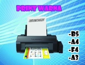Harga jasa print warna   kertas hvs a5 color | HARGALOKA.COM