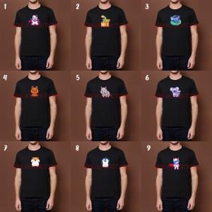 Harga baju kaos pria wanita gambar lucu kaos distro katun combed 30s | HARGALOKA.COM