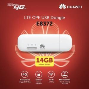 Harga modem wifi huawei e8372 4g lte 150mbps unlock all | HARGALOKA.COM
