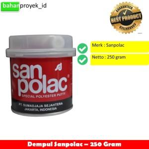 Harga Dempul Sanpolac 250 Gram Katalog.or.id