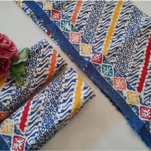 Harga kain batik motif parang kombinasi remekan | HARGALOKA.COM