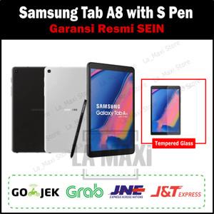 Harga samsung galaxy tab a 8 tab a8 with s pen 2019 3 32gb garansi sein   | HARGALOKA.COM