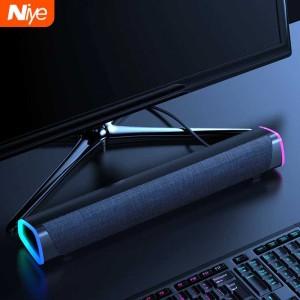 Harga niye speaker bluetooth soundbar tv pc home theater hifi 3d | HARGALOKA.COM