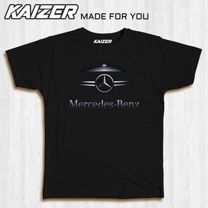Harga kaizer rh 0266 kaos mercedes benz mobil car otomotif   hitam   HARGALOKA.COM