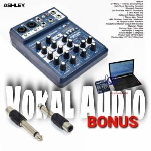 Harga mixer ashley fx 402 i original bluetooth ashley fx402i   4 channel   fx | HARGALOKA.COM