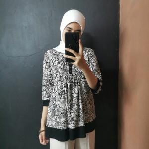 Harga blouse wanita motif bunga | HARGALOKA.COM