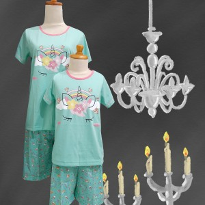 Harga baju tidur anak anne claire uni rainbow st lgn pdk cln pdk   | HARGALOKA.COM
