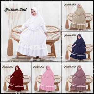 Harga baju muslim anak perempuan yislam 7 10 tahun   | HARGALOKA.COM