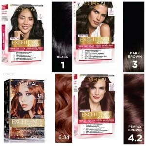 Harga loreal excellence creme hair color pewarna semir rambut l 39 oreal   6 34 ins gld | HARGALOKA.COM
