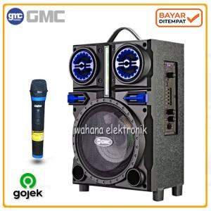 Harga gmc 897h speaker portable bluetooth suara mantap karaoke   gratis | HARGALOKA.COM