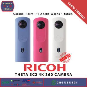 Harga ricoh theta sc2 sc 2 4k 360 spherical camera original  garansi | HARGALOKA.COM