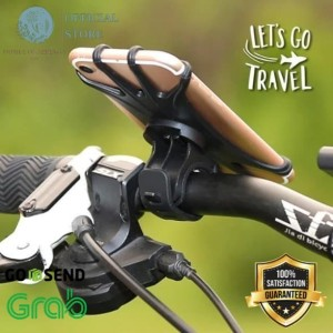Harga holder stang sepeda fleksibel barang siap   HARGALOKA.COM