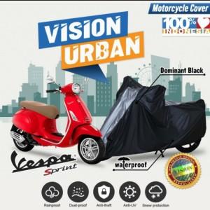 Harga cover sarung motor vision urban motor vespa sprint address waterproof   dominan | HARGALOKA.COM
