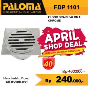 Harga paloma fdp 1101 floor drain kuningan saringan air got kamar   HARGALOKA.COM
