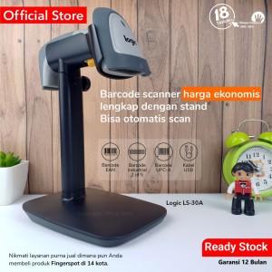 Harga barcode scanner logic ls 30 a   gratis stand   bisa otomatis   HARGALOKA.COM