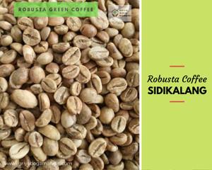 Harga green bean robusta sidikalang natural   HARGALOKA.COM