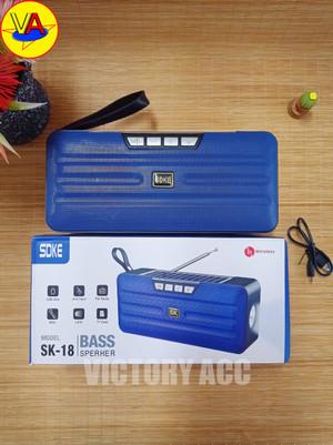 Harga speaker bluetooth sk 18 speaker solar panel lampu speaker | HARGALOKA.COM