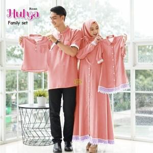 Harga gamis couole keluarga anak cowok cewek mix eenda   rose baju anak | HARGALOKA.COM
