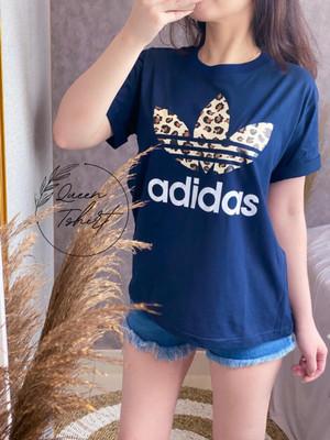 Harga kaos wanita import jumbo baju fashion branded wanita inf 060   navy | HARGALOKA.COM
