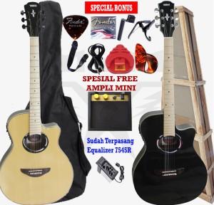 Harga gitar akustik elektrik model yamaha apx 500i custome   superprem d | HARGALOKA.COM