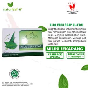 Harga naturals aloe vera soap 80 gr perawatan kulit cantik indah | HARGALOKA.COM