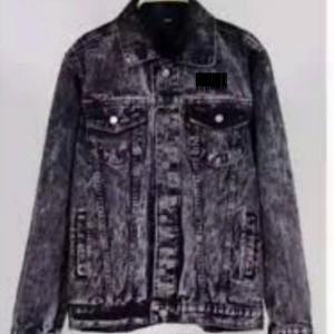 Harga jaket jeans denim pria dewasa snow black murah kualitas sortiran   snow black | HARGALOKA.COM