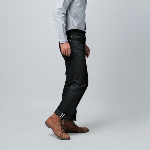 Harga accent series deep black denim 13oz non stretch selvedge accent   | HARGALOKA.COM