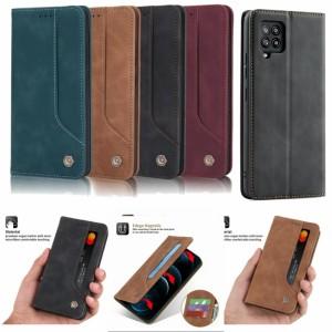 Harga samsung galaxy a12 flip case cover sarung dompet hp kulit model   HARGALOKA.COM