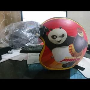 Harga helm bogo anak motif kungfu panda utk umur 2   6   HARGALOKA.COM