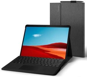 Harga microsoft surface pro x 2019 2020 spigen stand folio case | HARGALOKA.COM