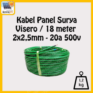 Katalog Kabel Power Solar Cell Solar Panel 2x2 5mm 50m Merk Akiku Katalog.or.id