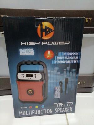 Harga speaker high power multifunction type 777 b5 34 | HARGALOKA.COM