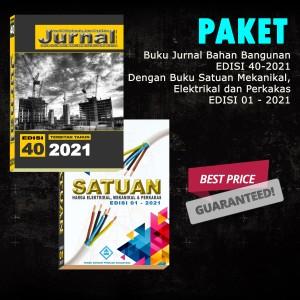 Harga paket jurnal bahan bangunan edisi 40 2021 buku satuan me | HARGALOKA.COM