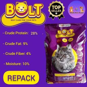 Harga makanan kucing bolt tuna repack 800 gram   kible | HARGALOKA.COM