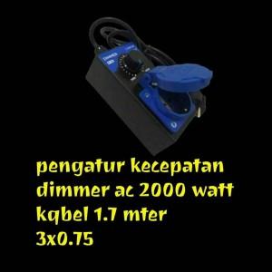 Katalog Scr 2000w 220v Voltage Regulator Dimming Dimmer Kecepatan Pengendali Katalog.or.id