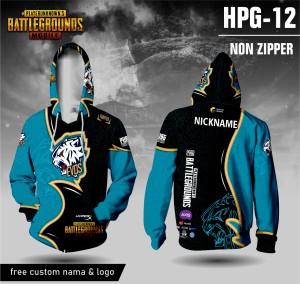 Harga jersey hoodie pubg evos mobile baju kaos game lengan panjang   hitam | HARGALOKA.COM