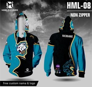 Harga jersey hoodie mobile legends evos baju ml kaos game lengan panjang   hitam | HARGALOKA.COM