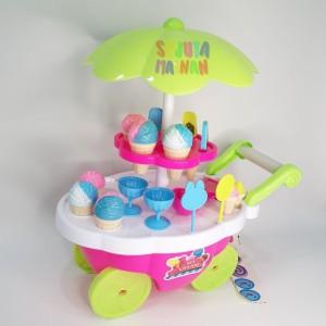 Harga mainan anak stroller es krim fl540 gerobak dorongan es krim kids | HARGALOKA.COM