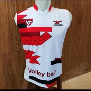 Harga Baju Kaos Voli Volly Volley Dri Fit Print Dewasa Molten Biru Katalog.or.id