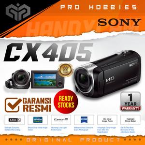 Harga sony hdr cx405 hd handycam hdr cx405 full hd video original   unit | HARGALOKA.COM