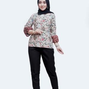 Harga model batik atasan wanita modern   | HARGALOKA.COM