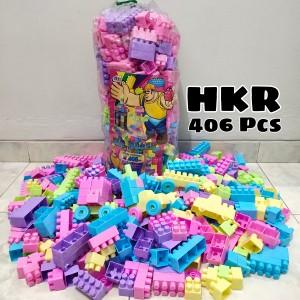 Harga lego block balok susun isi 406 mainan edukasi   isi | HARGALOKA.COM