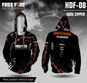 Harga jersey hoodie free fire baju ff rog kaos game lengan panjang   | HARGALOKA.COM